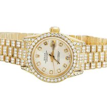 Rolex Ladies Rolex 18K Yellow Gold 26MM Datejust 69178...