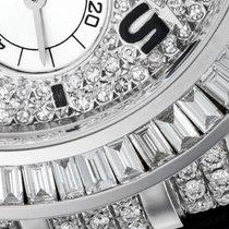 Rolex Cosmograph Daytona White Gold Diamond Set Leather Strap...