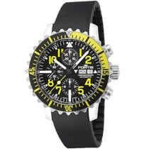Fortis Herrenuhr Maritim B-42 Marinemaster Chronograph Yellow...