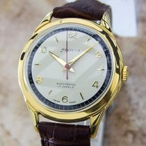 Helvetia Rare 1960s Mens Manual Swiss Made Vintage Gold Plated...