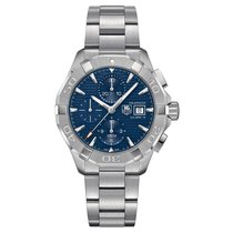 TAG Heuer Aquaracer 43mm Chrono Date Automatic Mens Watch...