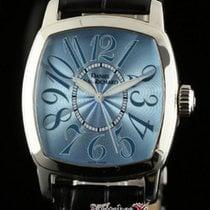 JeanRichard New Steel Light Blue Sunray Box/Papers/Warranty...