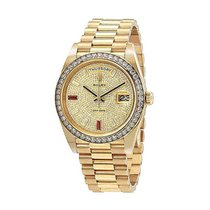 Rolex 228398TRU Day-Date 40mm in Yellow Gold with Diamond...