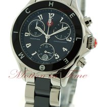 Michele Tahitian Large, Black Dial - Black Ceramic / Steel on...
