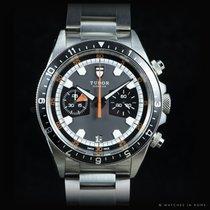 Tudor Heritage Chrono ref. 70330N Grey dial full set