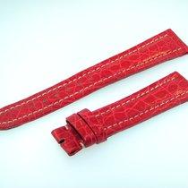 Breitling Band 19mm Croco Rot Red Roja Strap Für Dornschliesse...