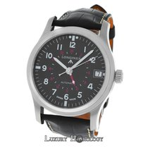 Longines New Men's Heritage Avigation GMT Steel Automatic ...