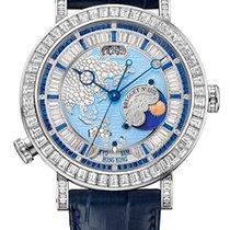 Breguet Brequet Hora Mundi 5719 Platinum & Diamonds Unisex...