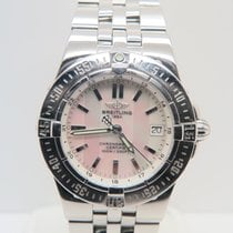 Breitling Starliner MOP Dial Ref. A71340 (Box&Papers)