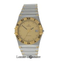 Omega Mint Men's Unisex  Constellation SS 18K Yellow Gold...