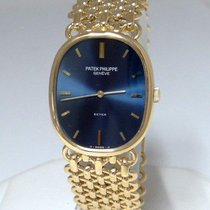 Patek Philippe Mens 750 18k Yellow Gold  Beyer Ellipse 3848/1...