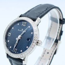 Blancpain WOMEN ULTRAPLATE BLUE WITH DIAMONDS 6102C192955A