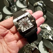 Cartier WSSA0006 (2016 Novelty) Santos 100 Carbon 41mm