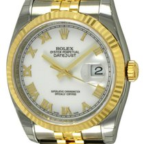 Rolex : Datejust 36mm :  116233 :  18k Gold & Stainless...