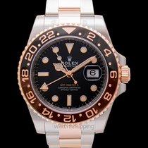 Rolex GMT-Master II Black Steel/Everose Gold 40mm - 126711CHNR