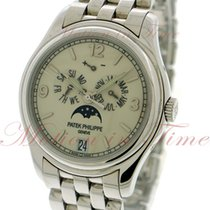 Patek Philippe Annual Calendar Moonphase, Cream Dial - White...