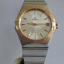 Omega Constellation Chronometer Stahl / Rosegold 38 mm