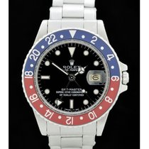 Rolex GMT-Master - Ref.: 16750 -Pepsi- Bj.: 1986 - Plexiglas -...