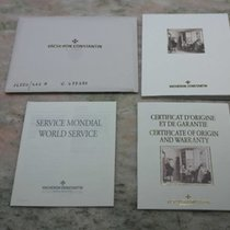 Vacheron Constantin vintage kit warranty booklet and papers...