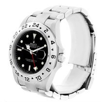 Rolex Explorer Ii Parachrom Hairspring Steel Black Dial Watch...