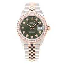 勞力士 (Rolex) Lady Datejust 18k Rose Magic Diamond Green...