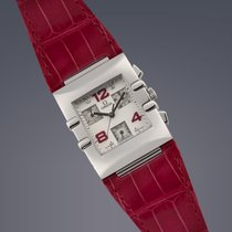 Omega Constellation Ladies Quadra MOP&Diamond steel quartz...