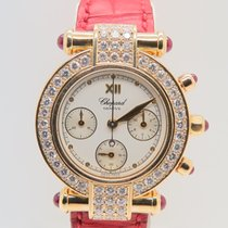 Chopard Imperiale Chronograph 18k Yellow Gold  Afterset Diamonds