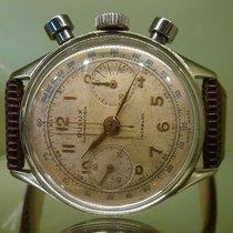 DULUX vintage chronographe screwed back bottom ref 2501 Cal L 248