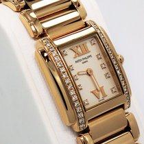 Patek Philippe Twenty 4 Diamond 18k Rose Gold Ladies Watch...