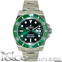 Rolex Submariner Date - Green Ceramic Bezel