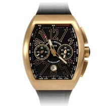 Franck Muller NEW MODEL VANGUARD ROSE GOLD  REF V45 CC DT