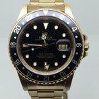 Rolex GMT MASTER FULL GOLD 18K FOLDED BRACELET LIKE NEW