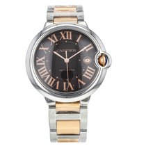 Cartier Ballon Bleu 42mm Steel & 18K Rose Gold Watch