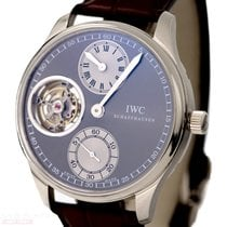 IWC Portugieser Tourbillion Ref-IW544603 18k White Gold Box...