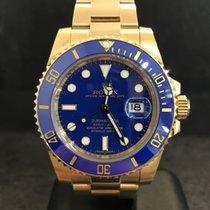 롤렉스 (Rolex) Submariner Date Gelbgold Ref.116618LB - Keramik