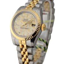 Rolex Unworn 179173 26mm Lady Datejust 2-Tone Jubilee Bracelet...