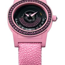 De Grisogono Tondo by Night Pink Composite Ladies Watch