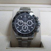 Rolex Daytona Stainless Steel/Black Dial/Ceramic Bezel