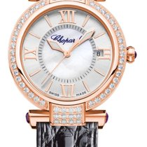 Chopard Imperiale 18K Rose Gold, Diamonds & Amethysts...