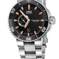 Oris Aquis Small Second | Schwarz Orange