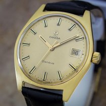 Omega Geneve Cal 613 Swiss Made Manual Gold Plated 35mm 1970...