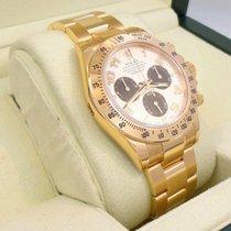 Rolex Daytona 116528 18k Y Gold Panda Dial Cosmograph Box...