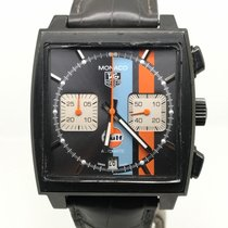 TAG Heuer Monaco BLACK PVD LIMITED EDITION GULF 2500 PIECES