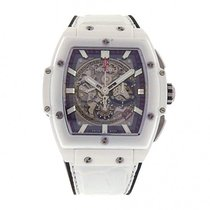 Hublot Spirit of Big Bang 601.HX.0173.LR White Ceramic Leather...