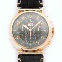 Milus Rose Gold Zetios Chronograph Automatic Watch