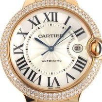 Cartier Ballon Bleu 42 MM 18K Solid Rose Gold Diamonds