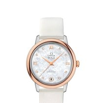 Omega Ladies 42422332055001 De Ville Prestige Co-Axial Watch