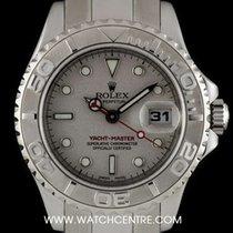 Rolex S/Steel O/P Platinum Dial Yacht-Master Ladies B&P...