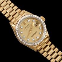 Rolex Ladies President Datejust Crown Collection, 69138 - 18K...