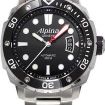 Alpina Geneve Diver 300 AL-525LB4V36B Herren Automatikuhr...
